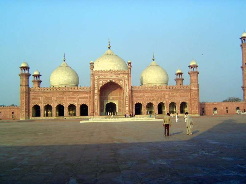 Pakistan: Lahore: Bad Shahi Mosque