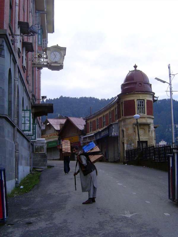 Northern India: Shimla: Approach and Mall