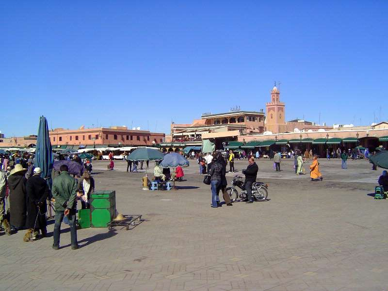 Morocco: Marrakech: The Medina or Old City