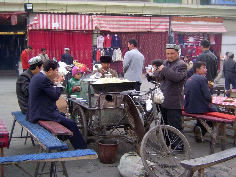 China: Kashgar Sunday Market