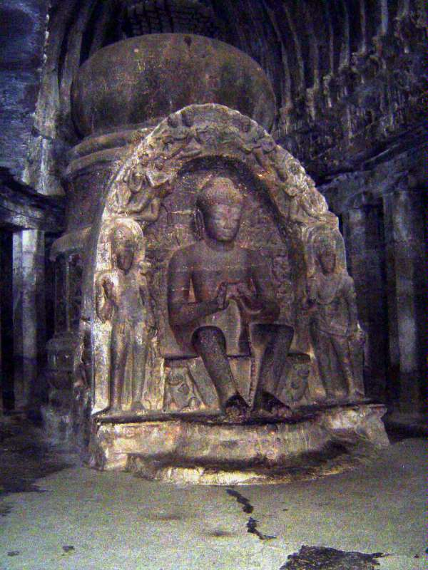 Peninsular India: Ellora (Buddhist) picture 13