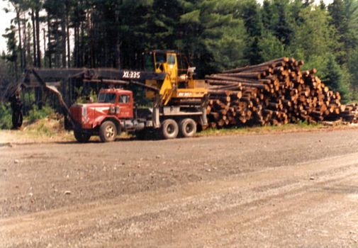 The Eastern United States: Logging in the Maine Woods picture 16