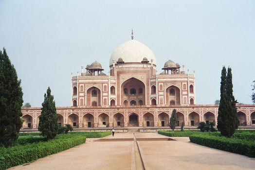 Northern India: Delhi: Humayun's Tomb picture 1