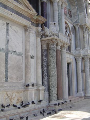 Travel to Italy: Venice: St. Mark's with the The Great Mirror