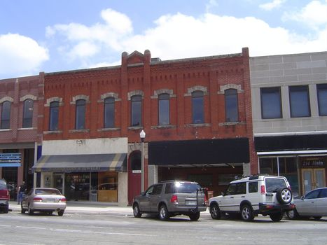 U.S.: Oklahoma: Norman 3: Post-war Downtown picture 17