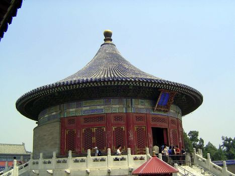 A geography of temple of heaven