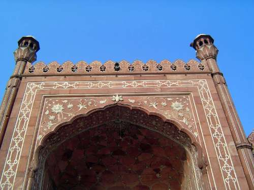 Pakistan: Lahore: Bad Shahi Mosque picture 17