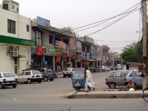 Pakistan: Lahore: Modern picture 12