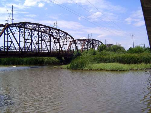 U.S.: Oklahoma: Oklahoma City: Water, Rail, Road picture 13