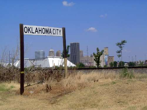 U.S.: Oklahoma: Oklahoma City: Water, Rail, Road picture 42