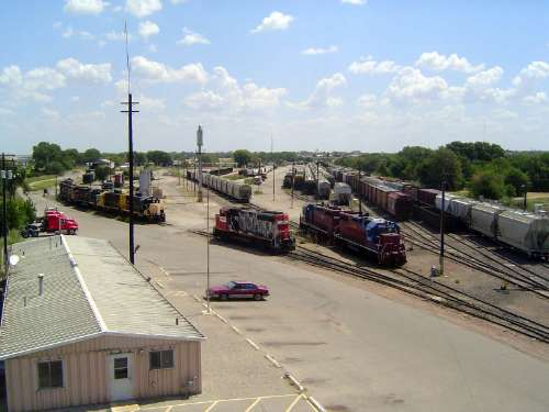 U.S.: Oklahoma: Oklahoma City: Water, Rail, Road picture 43