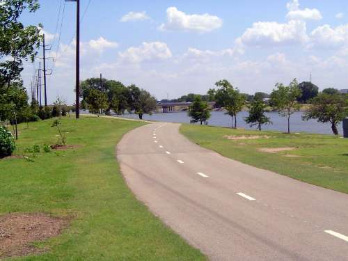 U.S.: Oklahoma: Oklahoma City: Water, Rail, Road picture 6