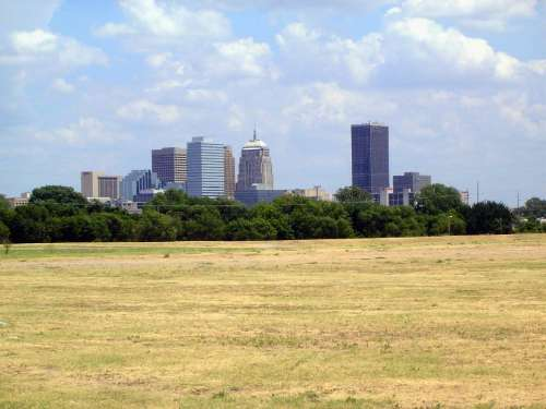 U.S.: Oklahoma: Downtown Oklahoma City