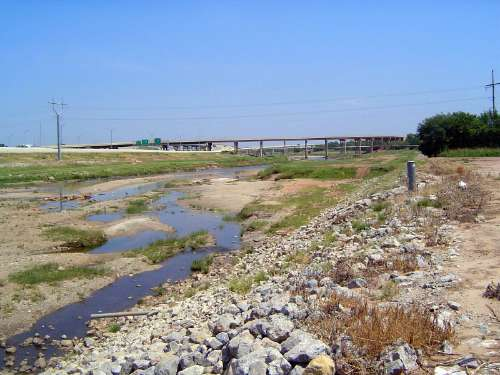 U.S.: Oklahoma: Oklahoma City: Water, Rail, Road picture 3