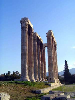 Greece: Theaters and the Temple of Olympian Zeus picture 7