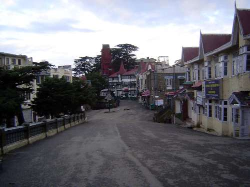 Northern India: Shimla: Approach and Mall picture 20