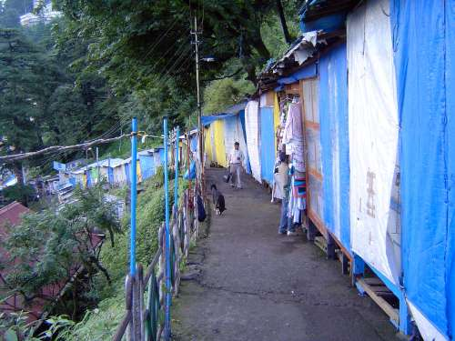 Northern India: Shimla: Approach and Mall picture 15