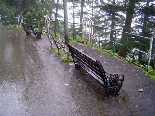 Northern India: Shimla: Approach and Mall picture 10
