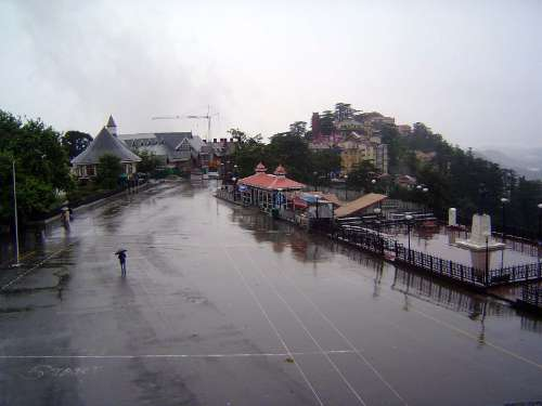 Northern India: Shimla: Approach and Mall picture 19