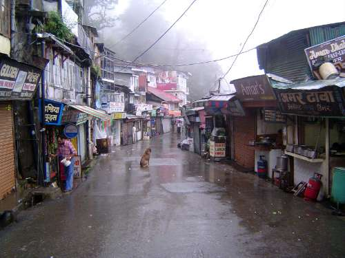 Northern India: Shimla: Approach and Mall picture 21