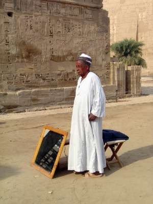 Egypt: Medinet Habu picture 13