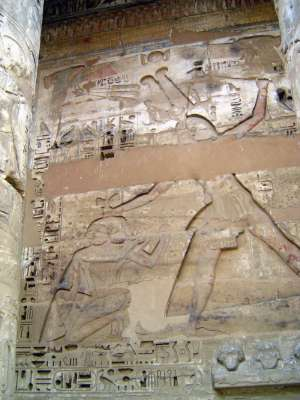 Egypt: Medinet Habu picture 22