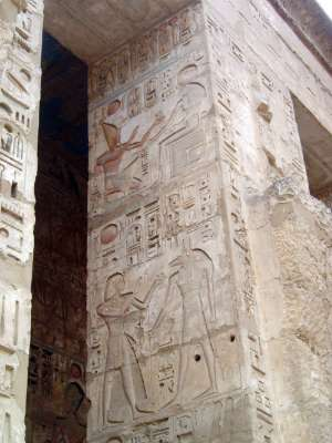 Egypt: Medinet Habu picture 37