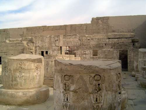 Egypt: Medinet Habu picture 41