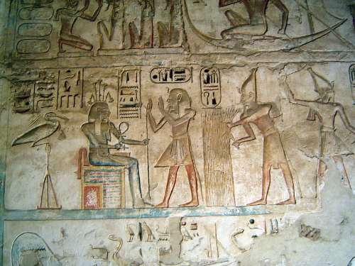 Egypt: Medinet Habu picture 44