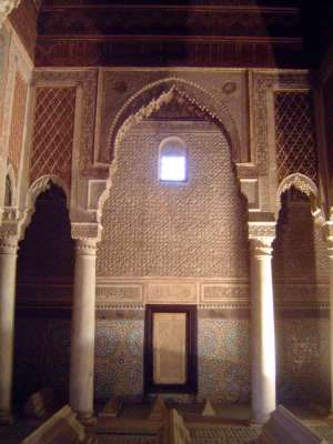 Morocco: Saadian Tombs picture 4