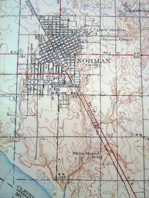 U.S.: Oklahoma: Norman in maps picture 4
