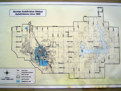U.S.: Oklahoma: Norman in maps picture 8