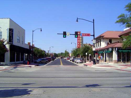 U.S.: Oklahoma: Norman 3: Post-war Downtown picture 24
