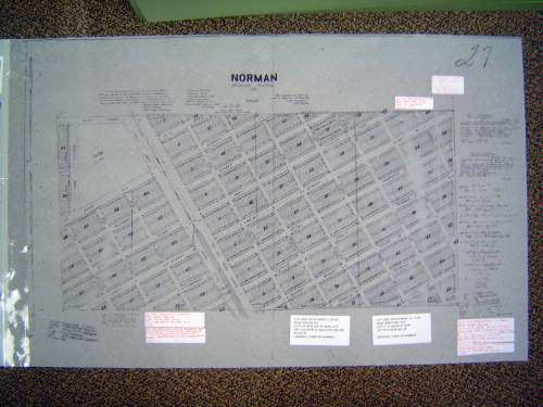 Oklahoma: Norman in maps picture 2