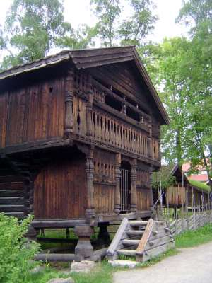 Norway: Oslo:  the Norwegian Folk Museum picture 8
