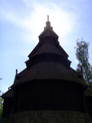 Norway: Oslo:  the Norwegian Folk Museum picture 17