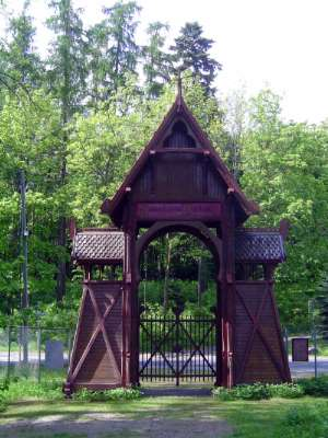 Norway: Oslo:  the Norwegian Folk Museum picture 1