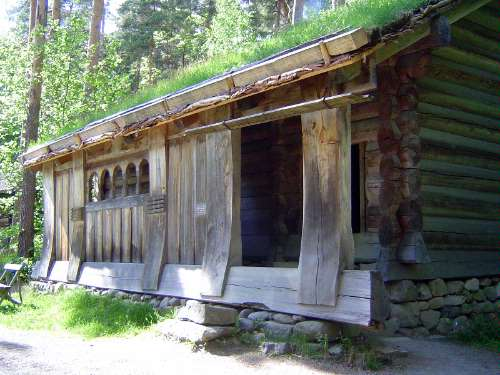 Norway: Oslo:  the Norwegian Folk Museum picture 9