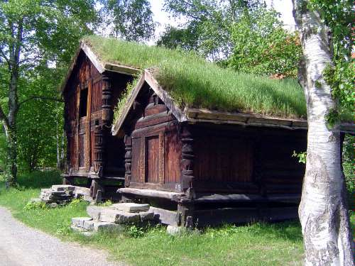 Norway: Oslo:  the Norwegian Folk Museum picture 7