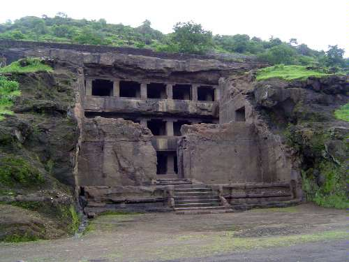 Peninsular India: Ellora (Buddhist) picture 5