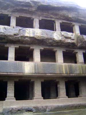 Peninsular India: Ellora (Buddhist) picture 6