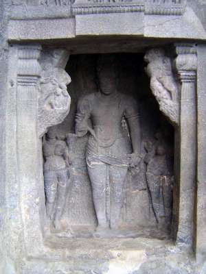 Peninsular India: Ellora (Buddhist) picture 14