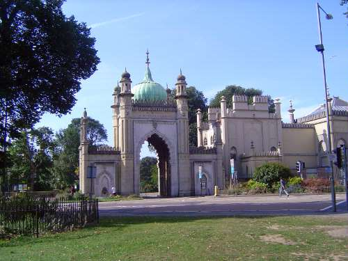 The United Kingdom: Brighton: the Royal Pavilion picture 4