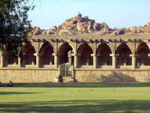 Peninsular India: Hampi Royal Center picture 26