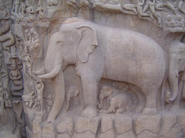 Peninsular India: Mamallapuram 1: Cave Temples and Carvings picture 30