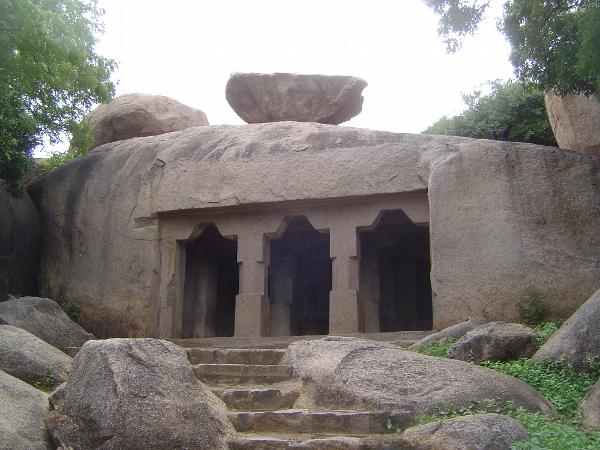 Peninsular India: Mamallapuram 1: Cave Temples and Carvings picture 20