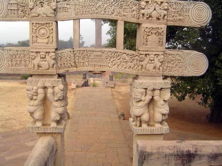 Peninsular India: Sanchi picture 16