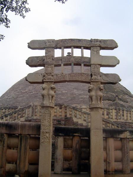 Peninsular India: Sanchi picture 11