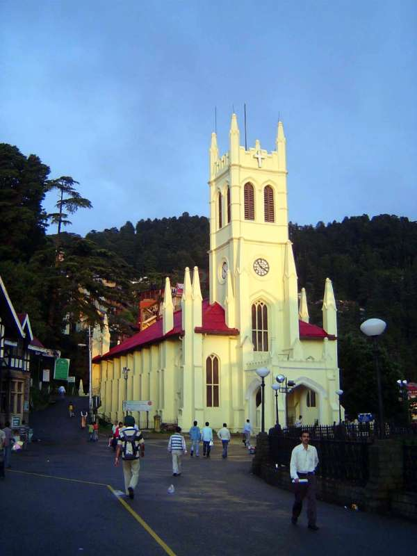 Northern India: Shimla: Christ Church picture 2