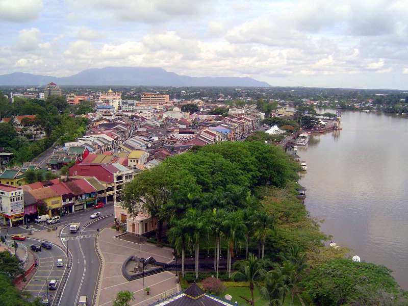 Malaysia: Colonial Kuching (Commercial)
